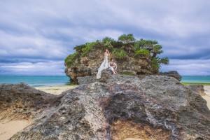 Dramatic pre wedding photo shooting