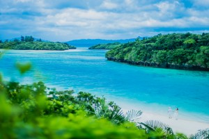 Beautiful beach in Ishigaki Island