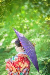 Wearing Kimono in summer