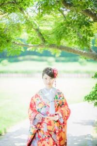 Kimono irouchikake