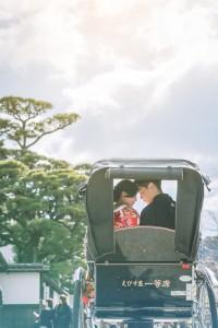 Happy couple in Kurashiki Okayama