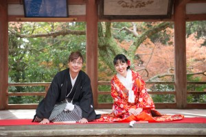 Photo at Japanese shrine