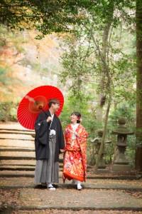 Experience to wear KIMONO
