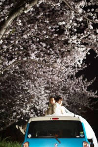Couple on the car