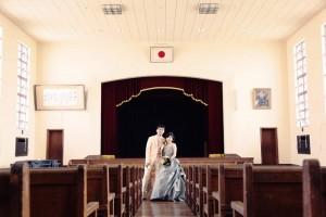 Old school in Shiga prefecture