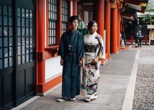 Walking around in Tokyo