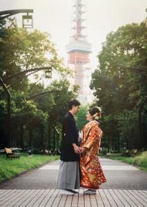 View of Shiba park Tokyo