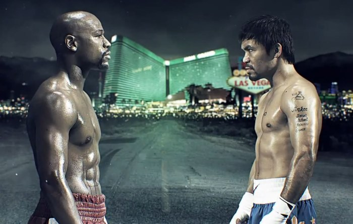Biggest boxing match ever!