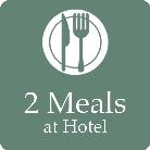 KAFUU WEDDING provides 2 meals