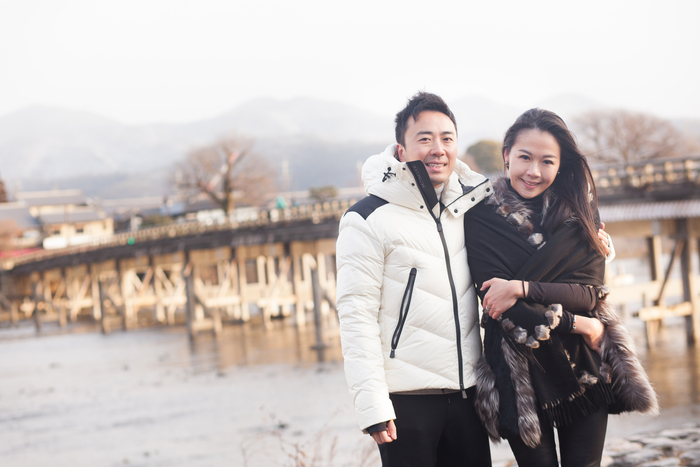 Couple from Hong Kong