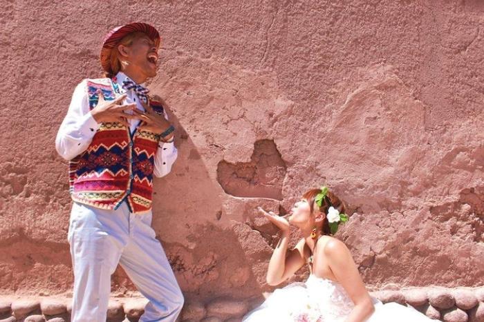Unique photo in Bolivia