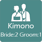 3 Kimono are provided