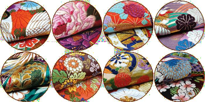 stitching of Kimono