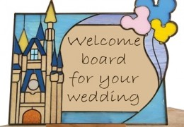 Make your original welcome board