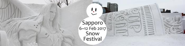 Come and enjoy Sapporo's winter