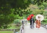 Japanese garden in Shiga