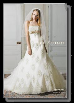 Wedding dress of JILL STUART