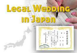 Legal Marriage in Japan