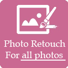 Photo retouch for all pictures