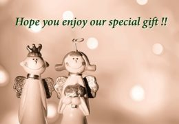 Enjoy our gift