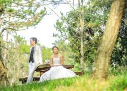 Wedding gown & Tuxedo