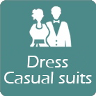 dress and casual suits