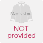 No man's shirt provided